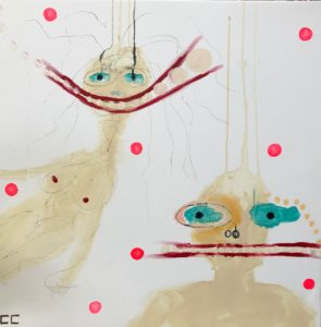 Peinture 70×70