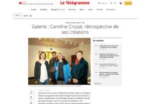 Caroline Crozat, rétrospective de ses créations