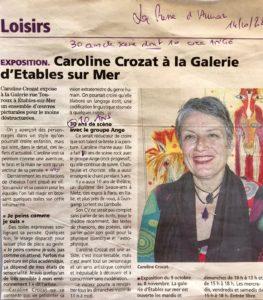 Expo Galerie Etables
